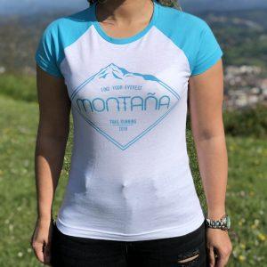 """Camiseta """"Montaña"""" Mujer"""