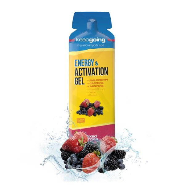 Gel Energy & Activation Frutas del Bosque.