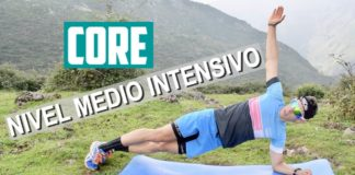 rutina de core para runners