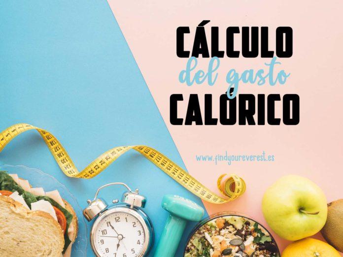 Cálculo del gasto calórico