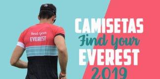 Camisetas Find Your Everest 2019