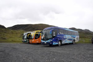 Buses a Torres del Paine