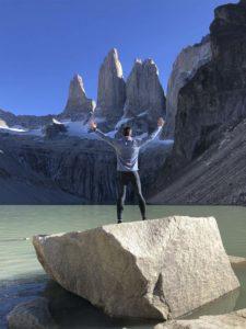 En las Torres del Paine