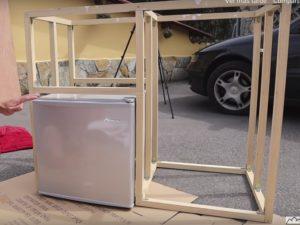 Estructura de la cocina de nuestra furgoneta