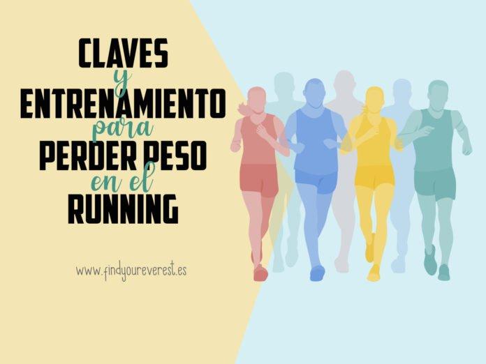 Claves para perder peso en el running