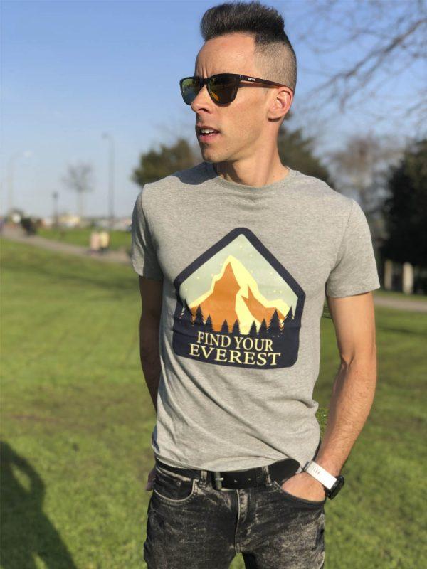"""Camiseta """"Blue Mountain"""""""