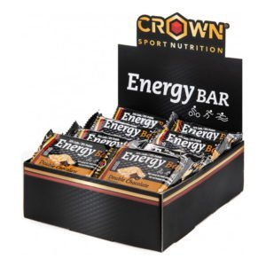 Crown Energy Bar Caja - Doble Chocolate