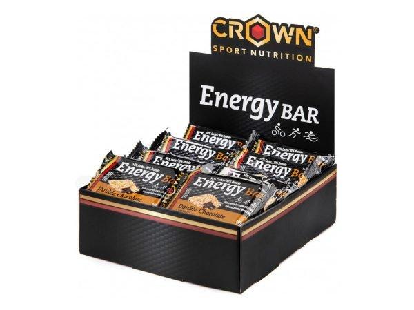 Crown Energy Bar Caja - Doble Chocolate