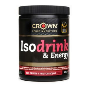 Crown Isodrink & Energy - Frutos Rojos