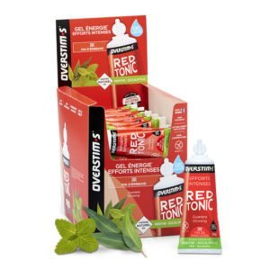 Overstims Gel Red Tonic - Menta - Eucalipto
