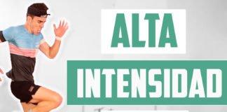HIIT - RUTINA DE ALTA INTENSIDAD EN 20MIN