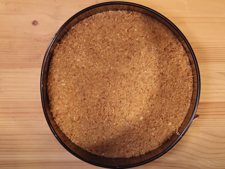 La base nuestra tarta de queso sin horno