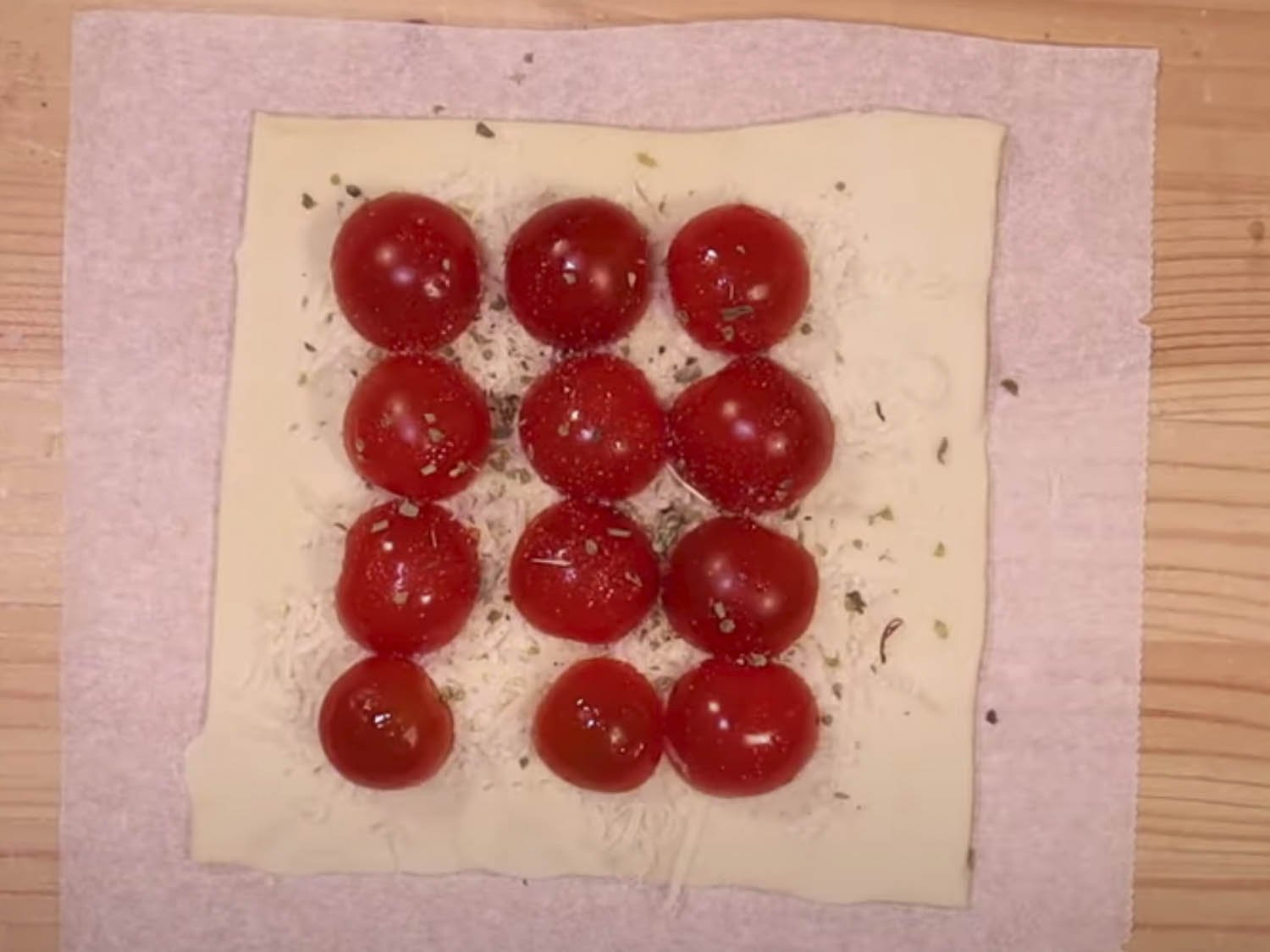 Pizza Tomates Cherry