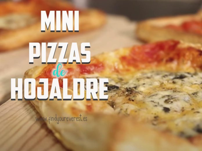 MINI PIZZAS DE HOJALDRE