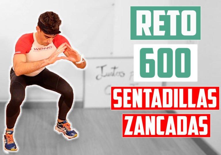 RETO 600 SENTADILLAS y ZANCADAS