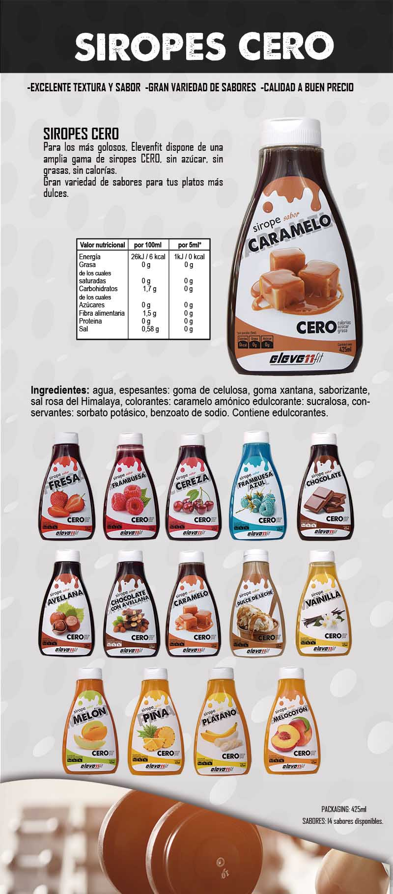 Elevenfit Sirope - Caramelo