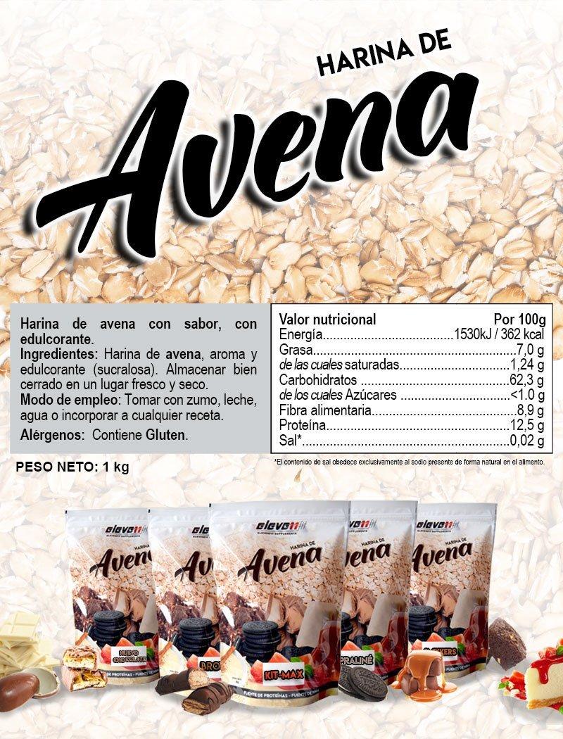 Elevenfit Harina de Avena