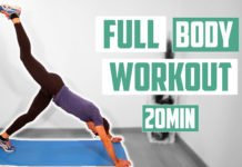 FULL BODY WORKOUT 20 MINUTOS