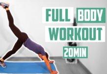FULL BODY WORKOUT 20 MINUTOS