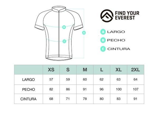 Guía de tallas maillot