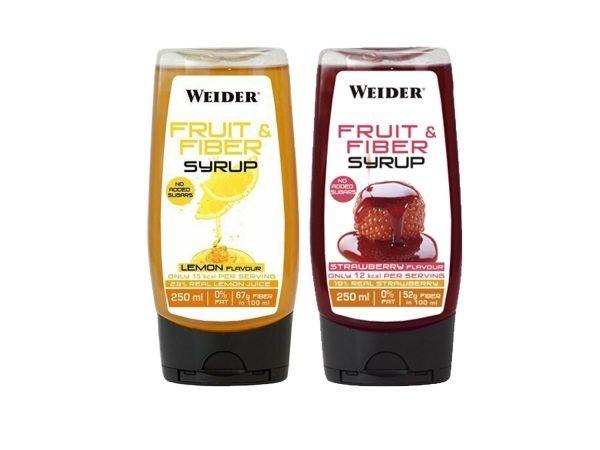 WEIDER FRUIT & FIBER SYRUP