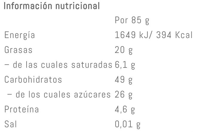 Valor Nutricional Victory Endurance Endurance Bar - Banana y Chocolate Blanco