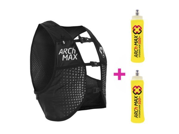 ARCh MAX HV-6 Unisex Negro (2020-2021) + 2 Hydraflask 500ml