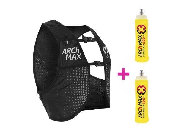 ARCh MAX HV-8 Unisex Negro (2020-2021) + 2 Hydraflask 500ml