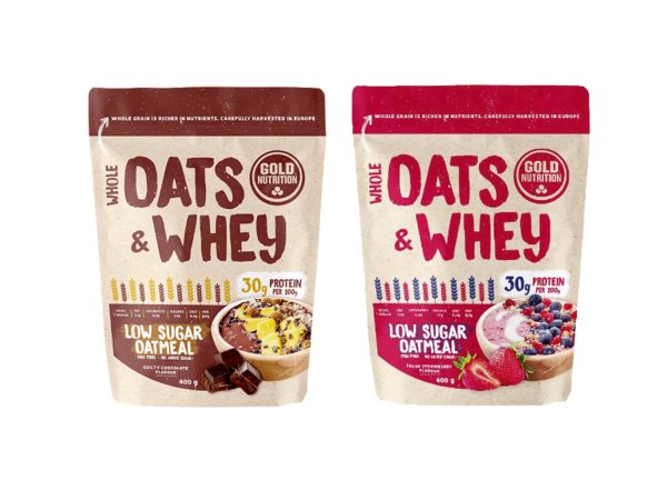 GOLD NUTRITION OATS & WHEY