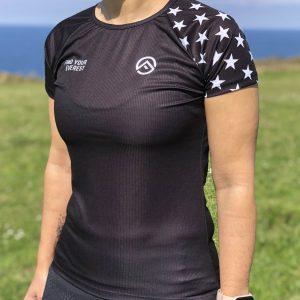 Camiseta Técnica Mujer Find Your Everest BLACK STARS