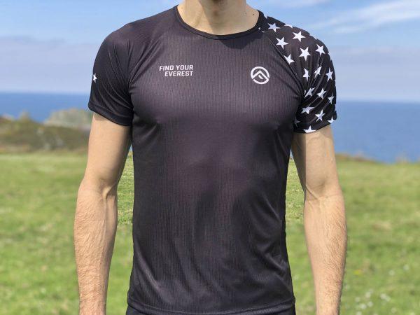 Camiseta Técnica Find Your Everest BLACK STARS