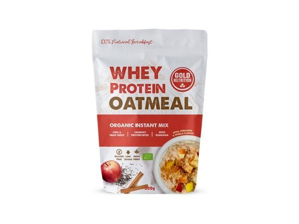 GOLD NUTRITION WHEY PROTEIN OATMEAL