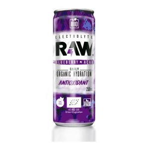 RAW Bebida Deportiva BIO Arándanos y Açai Antioxidante 250 ml