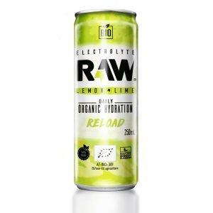 RAW Bebida Deportiva BIO Lima Limón 250 ml