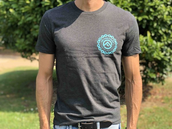 """CAMISETA CASUAL FIND YOUR EVEREST """"CYCLING CHAIN"""""""